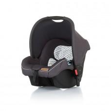 Chipolino Car seat with adaptors Fama Granite grey