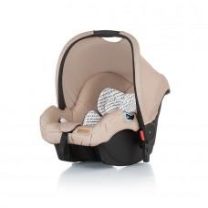 Chipolino Car seat with adaptors Fama Caramel
