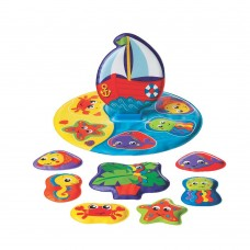 Playgro Floaty Boat Path Puzzle