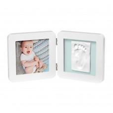 Baby Art Print White Frame