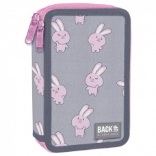 Back Up 2-layer Pencil Case with supplies DW 01 Rabbit