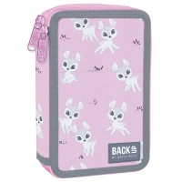 Back Up 2-layer Pencil Case with supplies DW 29 Deer