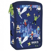 Back Up 2-layer Pencil Case with supplies DW 51 Super Game