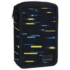 Back Up 2-layer Pencil Case with supplies DW 45 Glitch