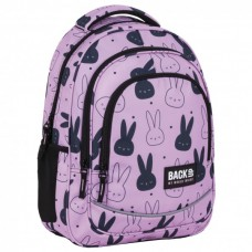 Back Up School Backpack X 35 Pink Rabbit