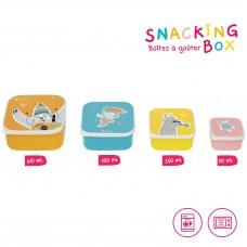 Badabulle Snacking Boxes pack of 4
