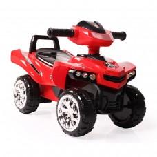 Moni Детска кола за яздене и бутане ATV No Fear, Червена