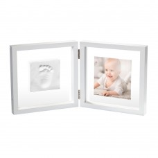 Baby Art Square Print Frame My Baby Style white