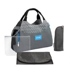 Badabulle Multipocket Changing Bag, Grey