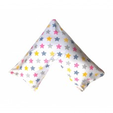 Barbabebe Maternity Pillow Set with pillow case, Colored Stars