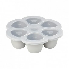 Beaba MultiPortions, 6 x 150 ml, Light Grey