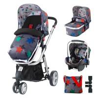 Cosatto Giggle 2 Baby stroller Grey Megastar, 3 in 1