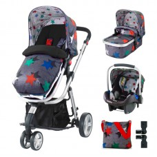 Cosatto Giggle 2 Baby stroller Grey Megastar, 3 in 1