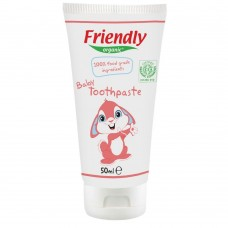 Friendly Organic Baby Toothpaste, 100% food grade ingredients