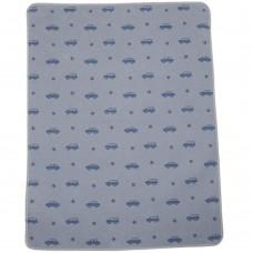 David Fussenegger Baby Blanket Juwel 70х90 Cars Blue