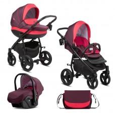 Buba Baby stroller 3 in 1 Bella Burgundy