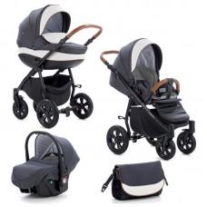 Buba Baby stroller 3 in 1  Forester Black