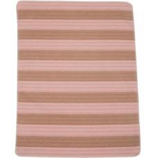 David Fussenegger Бебешко одеяло Juwel 70x90 Райе, розово и капучино