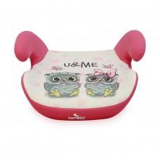 Lorelli Детска седалка за кола Teddy 15-36 kg. Pink OWLS
