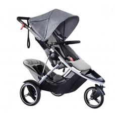 Phil&Teds Baby Stroller Dash V5 Grey