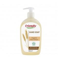 Friendly Organic Натурален сапун за ръце с екстракт от органичен ориз 500 мл