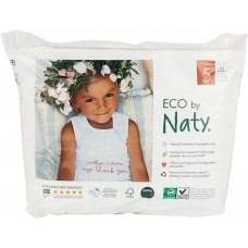 Naty Eco Pull on Nappy Pants Nature Babycare, size 5