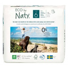 Naty Eco Pull on Nappy Pants Nature Babycare, size 6