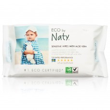 Naty Eco Sensitive Wipes with Aloe