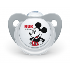 NUK Trendline Mickey Soother 0-6 m with sterilizing box