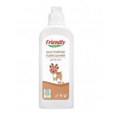 Friendly Organic Универсален препарат за почистване на под с Цитронела, 1000 ml