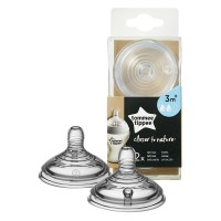 Tommee Tippee Silicone teat 2pc 3m.+