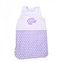 Cama mia Baby Sleeping Bag Purple elephant