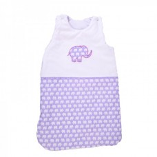 Cama mia Baby Sleeping Bag Purple elephant