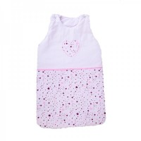 Cama mia Baby Sleeping Bag Pink Stars