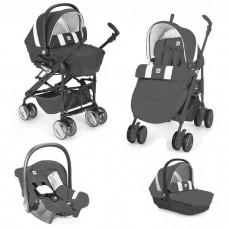 Cam Baby stroller Combi Tris Darck Grey