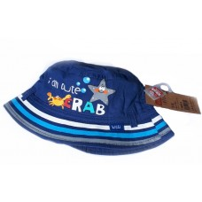 Baby Summer Hat Blue Crab