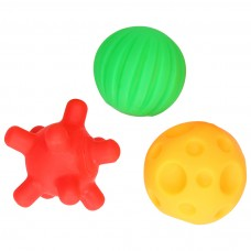 Mom's care Fun Sensory Balls Set, 3 pcs