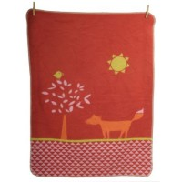 David Fussenegger Maja Organic Cotton Baby Blanket Fox