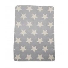 David Fussenegger Panda Bamboo Blanket Grey Stars