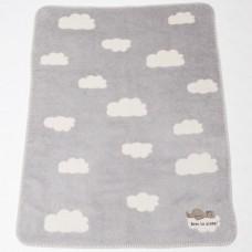 David Fussenegger Panda Bamboo Blanket Born to Sleep, Grey