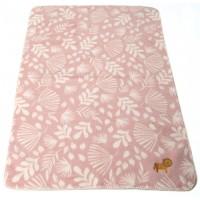 David Fussenegger Panda Bamboo Blanket Lion, Pink