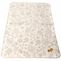 David Fussenegger Panda Bamboo Blanket Lion, Beige