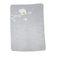 David Fussenegger Panda Bamboo Blanket Sloth, Grey