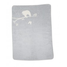 David Fussenegger Panda Bamboo Blanket Sloth, Grey