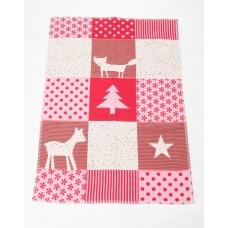 David Fussenegger Бебешко одеяло от органичен памук Lena Червена Лисица