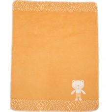 David Fussenegger Baby Blanket Juwel Bear, Orange