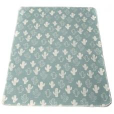 David Fussenegger Baby Blanket Juwel Kaktus, Green