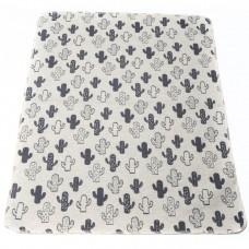David Fussenegger Бебешко одеяло Juwel 70x90 Кактуси, Сиво