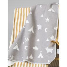 David Fussenegger Бебешко одеяло Juwel 70x90 Къмпинг, Сиво