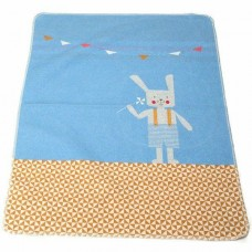 David Fussenegger Бебешко одеяло Juwel 70x90 Синьо Зайче